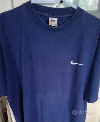 Maglietta Nike azzurra uomo