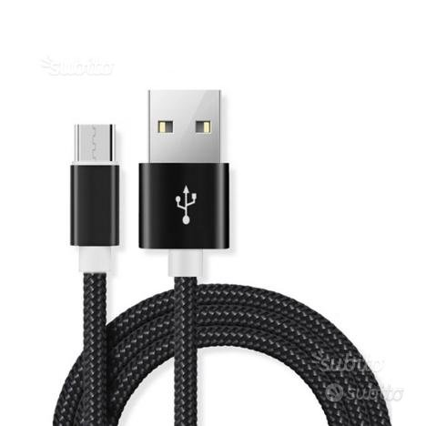 Cavo micro usb per ricarica Android quick charge