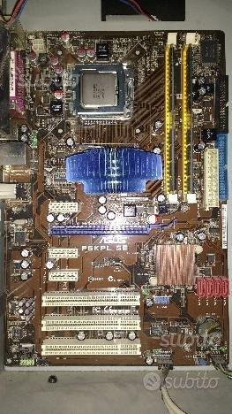 Intel core2quad / asus P5KPL SE / RAM 4gb