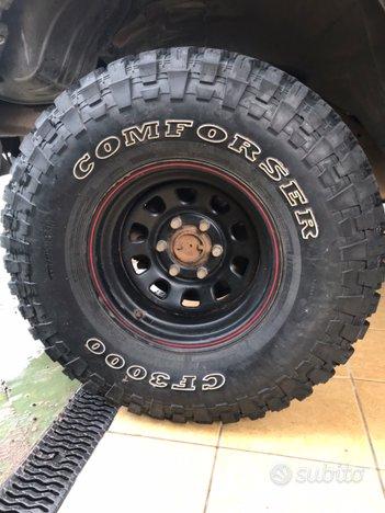Gomme 315/75/16 comforser CF 3000