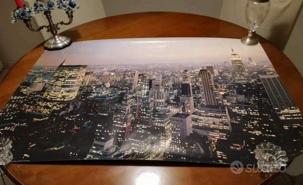 Poster New York di notte
