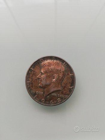 Moneta USA half dollar del 1968