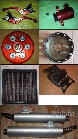 Accessori e ricambi per Ducati Monster e varie