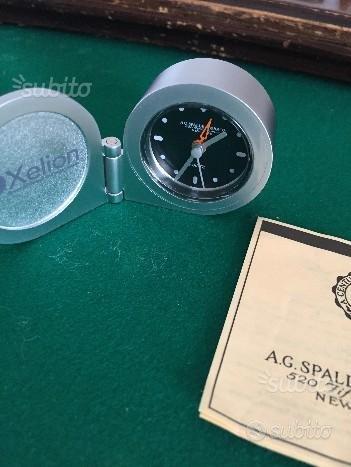 Orologio da tavolo Spalding & Bros