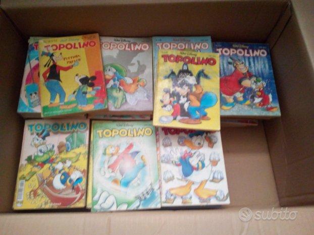 Giochi vintage,vecchi fumetti,pupazzo topolino