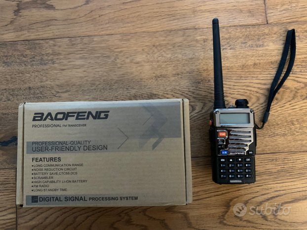 Radio ricetrasmittente Baofeng UV-5RE Plus