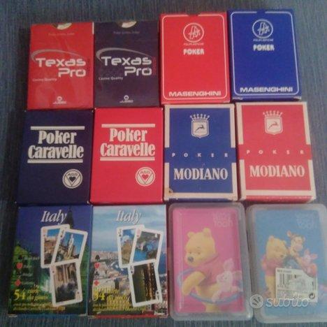 Carte Poker Varie