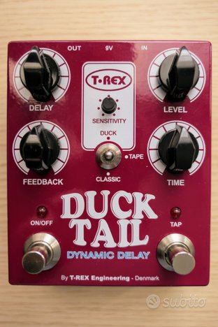 T-Rex Duck Tail Dynamic Delay - Pedale