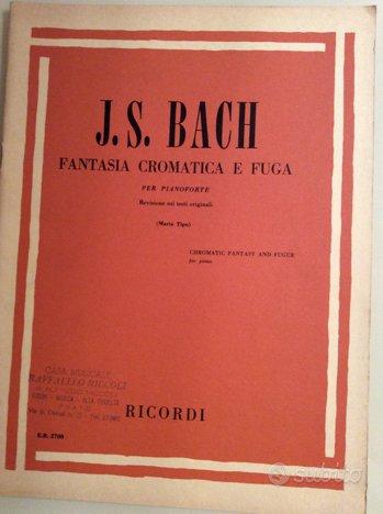 J.S.BACH fantasía cromática e fuga E.R. 2700