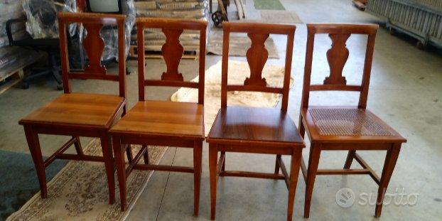 Sedie in legno - Arredamento e Casalinghi In vendita a Brescia