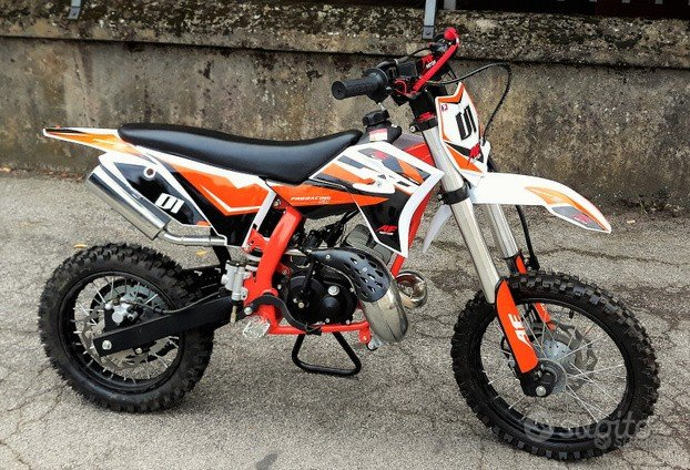 Nuova MINI CROSS 50cc PRO RACING 12/14