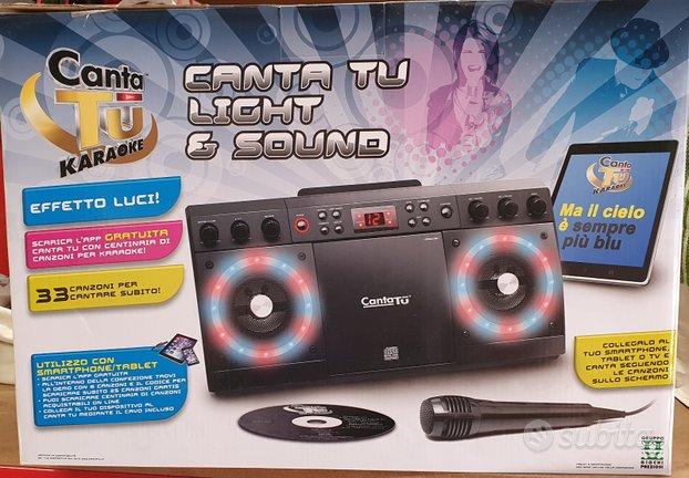 Canta TU Light&Sound di Giochi Preziosi