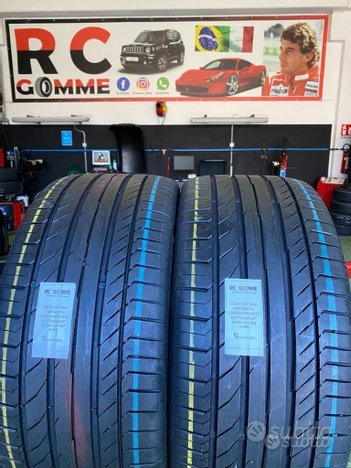 2 gomme usate 255 45 17 98w continental