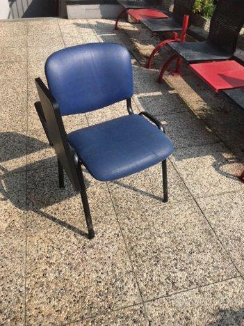 15 sedie ufficio corsi braccioli riunioni ribaltin ...