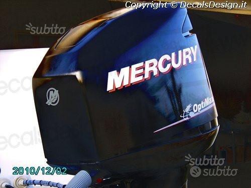 Kit adesivi motore fuoribordo mercury 225 optimax