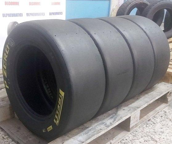4 pneumatici gomme pirelli slick 200 - 540 - 13