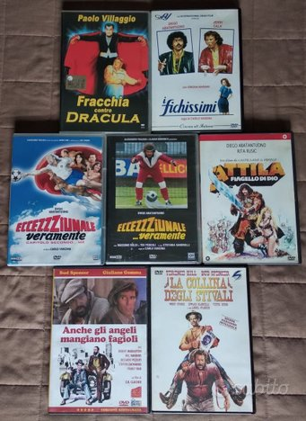 Lotto Film in DVD Cinema Italiano Commedia