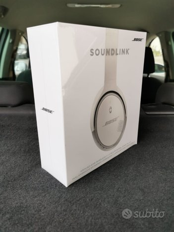 Cuffie bose soundlink - nuove
