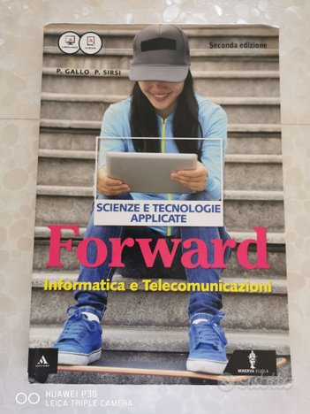 Libro Forward scienze e tecnologie applicate