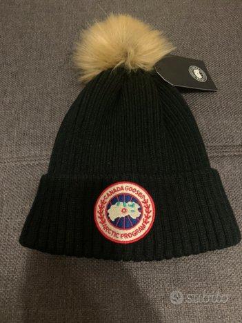 Cappellino nero CANADA GOOSE