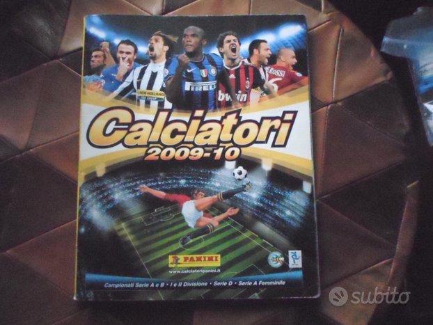 Album figurine Calciatori 2009-10 campionato,panin