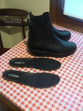 Stivaletti scarpe pelle nera MBT NUOVI