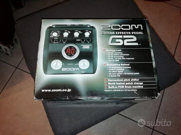 Pedaliera effetti chitarra Zoom G2