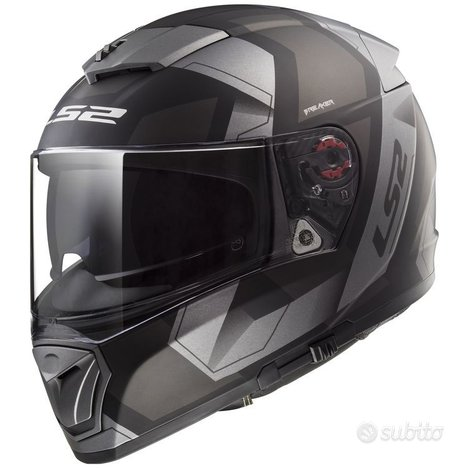 Casco Integrale LS2 BREAKER PHYSICS Grigio Opaco M