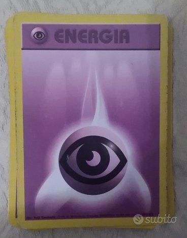Carte Pokémon Energia