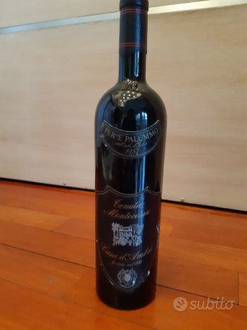 Bottiglia vino Per'e Palummo 1987