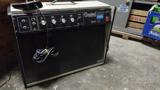 Amplificatore Vintage Davoli-Krundall anni 70