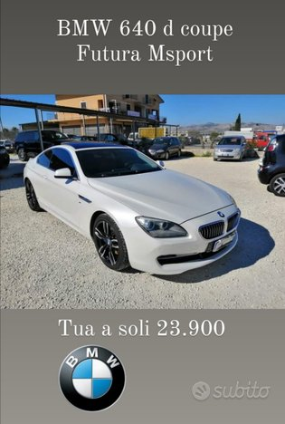 BMW 640d Coupe Futura MSPORT Edition -2012