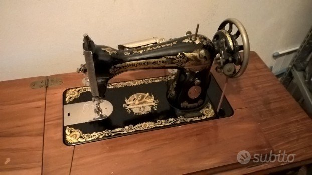 Macchina da cucire Singer mod.15 - 1928