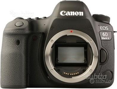 Canon reflex eos 6d mark II body nuovo