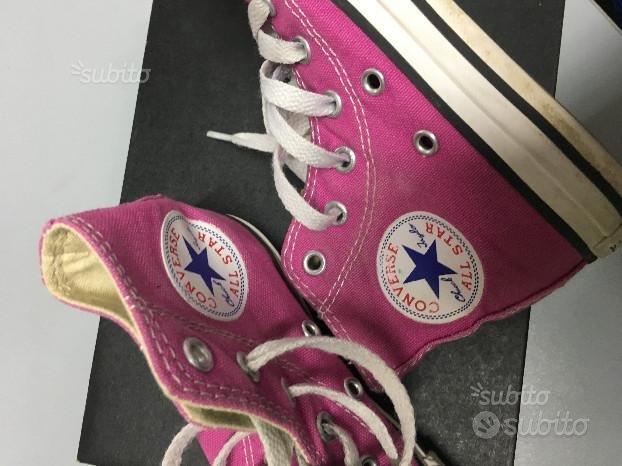 Scarpe all star converse fucsia n.27