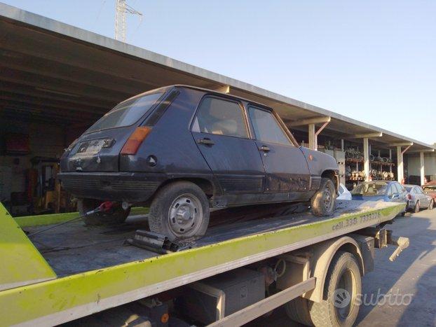 Renault 5 dal 1972 al 1984 R5 RICAMBI USATI