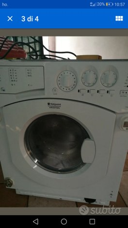 Ricambi lavatrice asciugatrice hotpoint ariston Wi