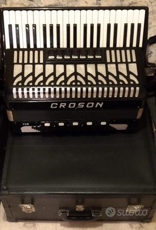 Fisarmonica Croson 120 bassi seminuova