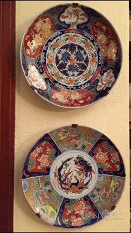 Piatti Imari Antiquariato Giapponese