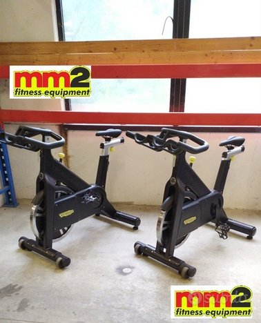 Spin bike group cycling Technogym rigenerate