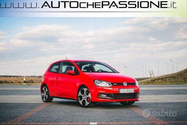 Coppia splitter minigonne VW POLO MK5 GTI 6R