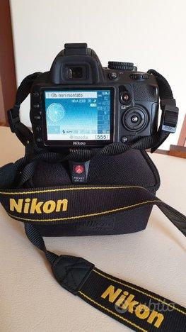 Reflex nikon d3100 + flash nikon sb 700