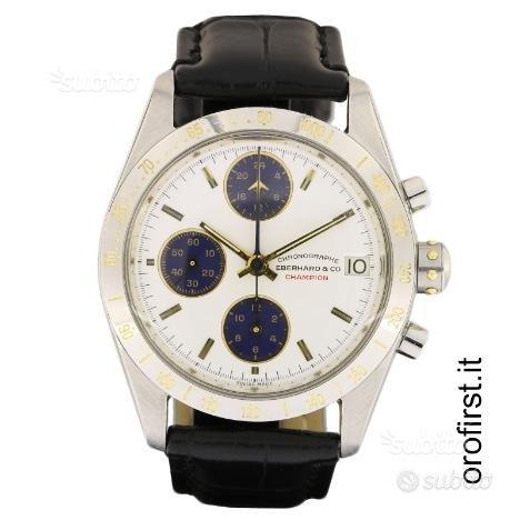 Eberhard & Co Champion Chronographe Ref 31122
