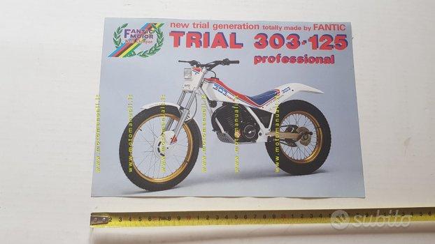 Fantic Trial 303-125 Professional 1987 depliant