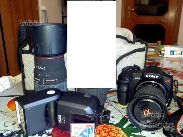 Set fotografico sony