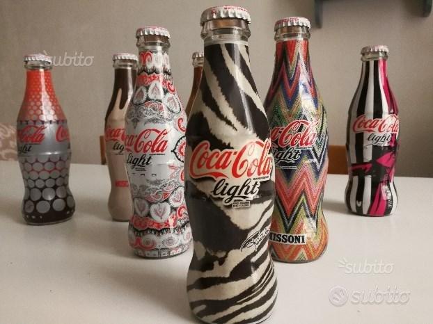 Bottiglie coca cola collection