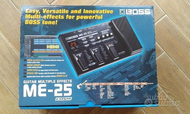 Pedaliera multieffetto Boss M-25 originale