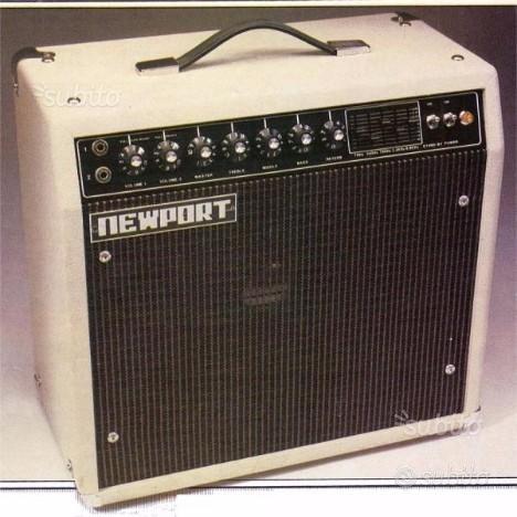Amplificatore valvolare 100W Newport anno 1980