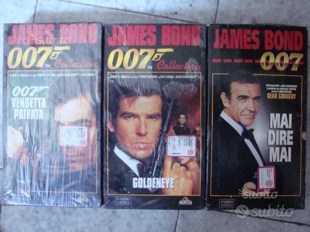 James Bond 007 -S. Connery, P. Brosnan, T. Dalton-