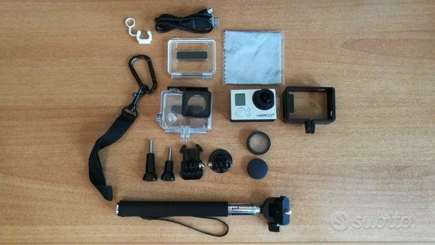 GoPro Hero 3+ Silver con accessori